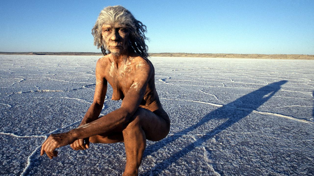 "There were several species of hominids that lived at the same time. Picture: from BBC series ""Walking with Cavemen"""