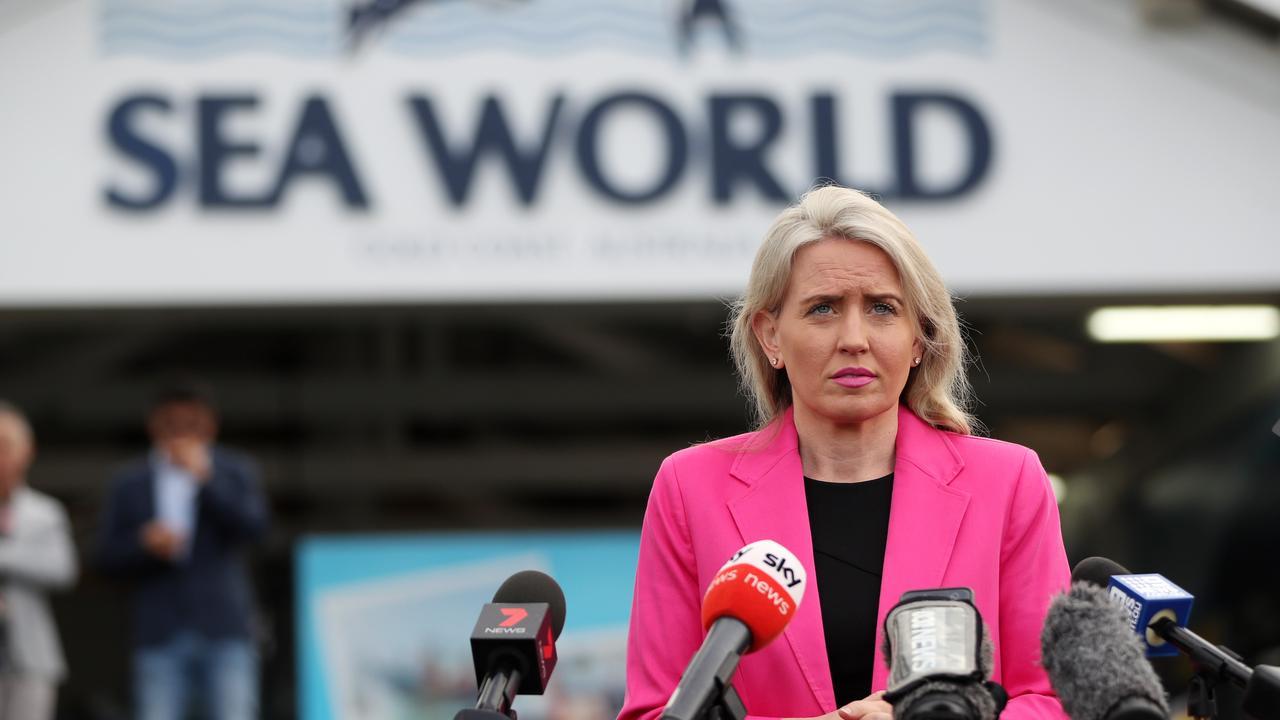 Queensland Tourism Minister Kate Jones. Picture: NIGEL HALLETT