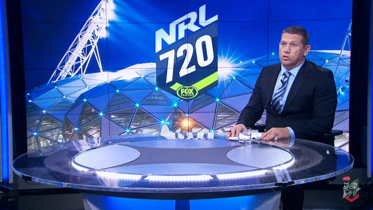 Fletch takes his place as host of NRL 720 during his stint as the greatest rugby league analyst ever.