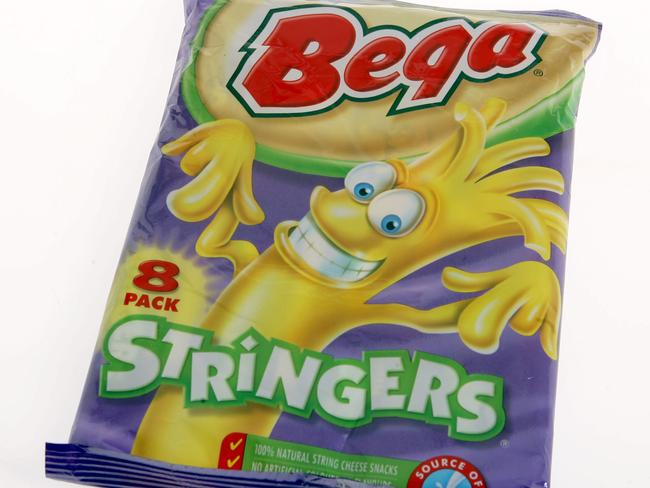 Bega cheese stringers are also in the spotlight.
