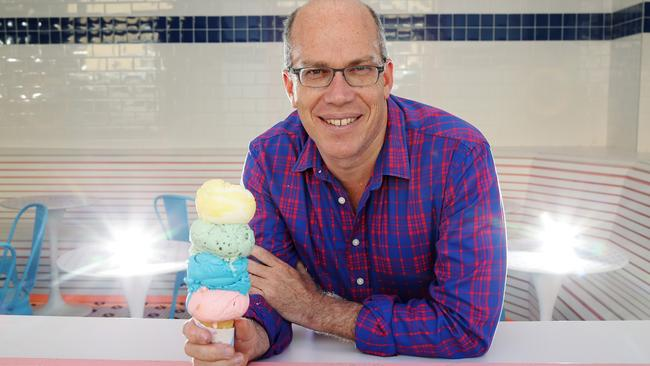 Damian Griffiths has been forced to sell Doughnut Time to former CEO and managing director Dan Strachotta. Picture: Mark Calleja.
