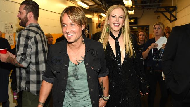 Keith Urban and Nicole Kidman are going to need a bigger trophy room. Picture: Rick Diamond/Getty Images.