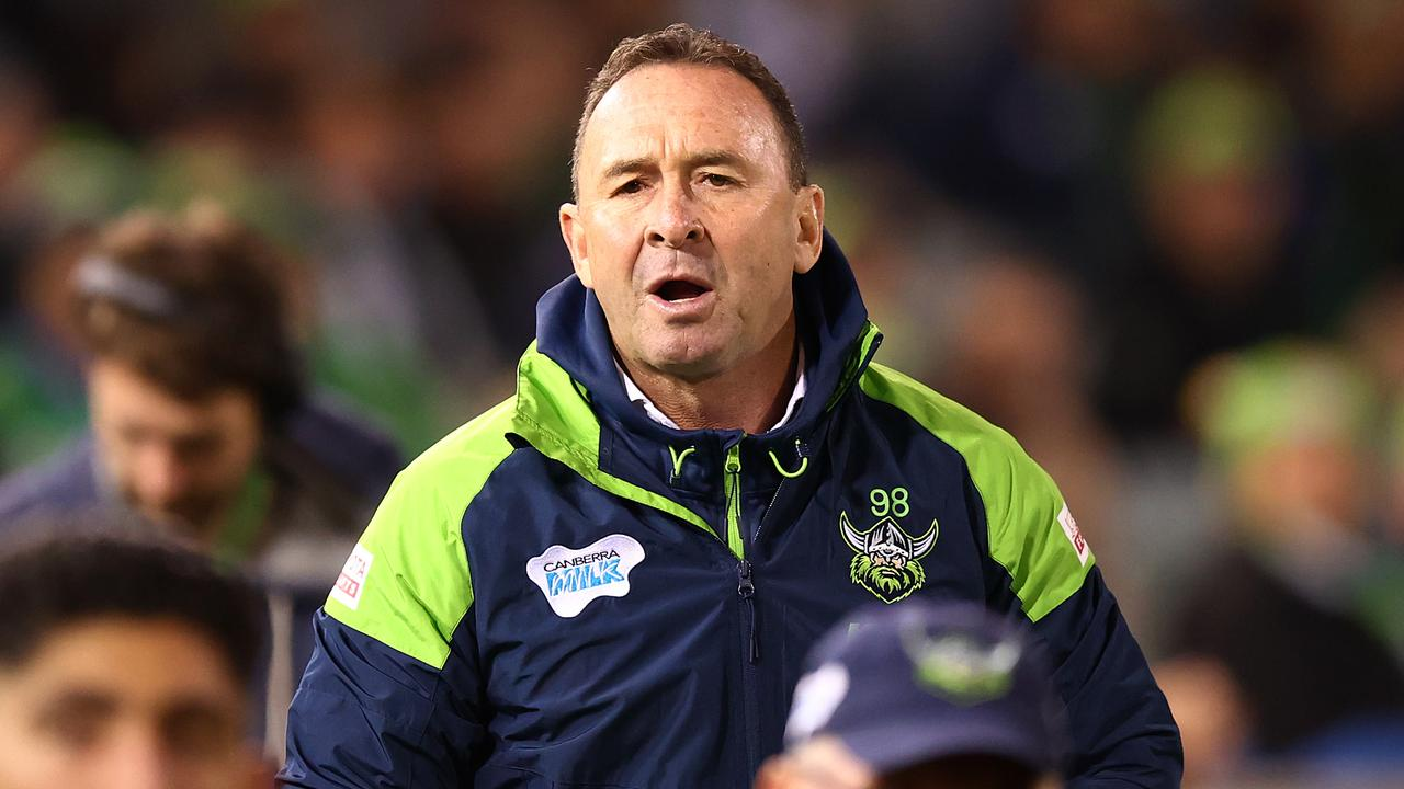 Ricky Stuart's Raiders have a woeful second half record in 2021.