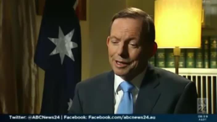 Abbott suggests Credlin under increased scrutiny for being female