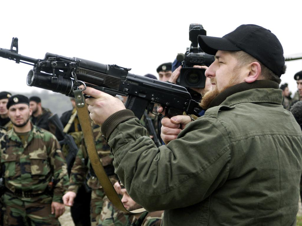 Ramzan Kadyrov is not a man to mess with. (Photo by Kadyrov Press Office/Getty Images)