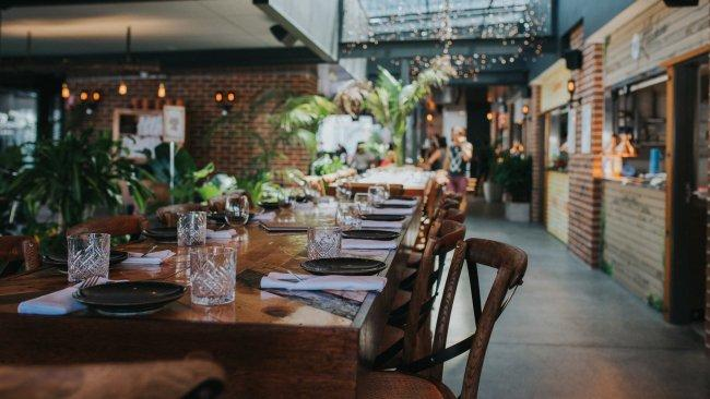 The Collective, Palm Beach Market-style and outdoorsy, The Collective is home to five different kitchens. Picture: Destination Gold Coast