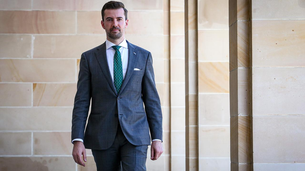 West Australian Liberal leader Zak Kirkup stunned everyone by conceding defeat a fortnight before the election. Picture: Colin Murty/The Australian