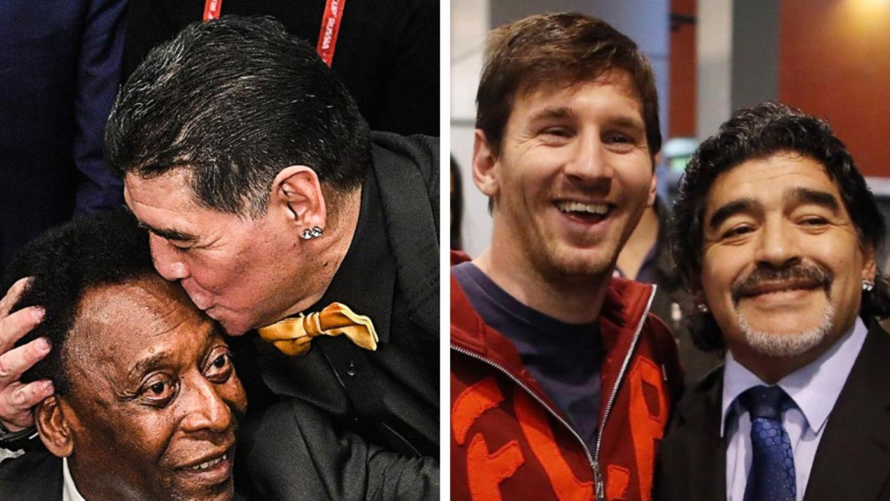Sporting legends pay tribute to Diego Maradona.