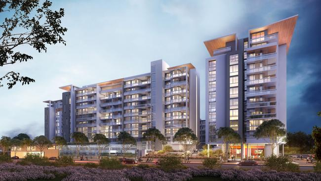 Sydney Olympic Park has been a hot bed of residential construction activity.