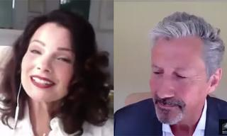 The Nanny cast re-enacts the first episode of the show on Zoom