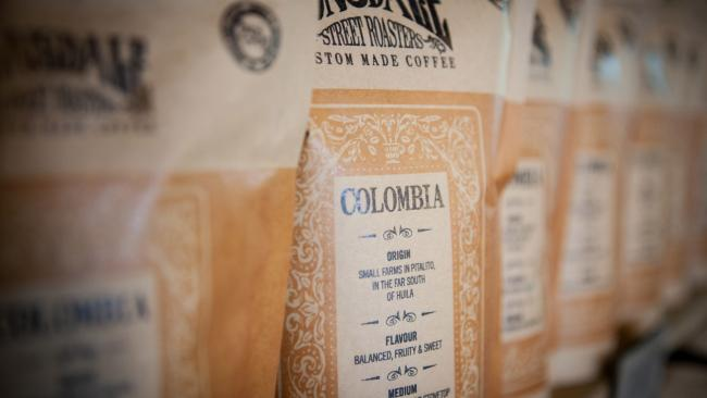 Lonsdale Street Roasters coffee at Lonsdale Street Cafe. Picture: Supplied