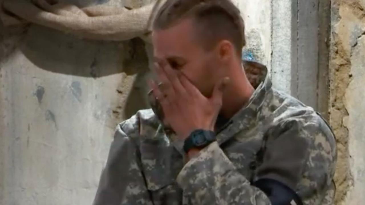 Jett Kenny opened up about the death of his sister on Tuesday night's episode of SAS Australia. Picture: Channel 7