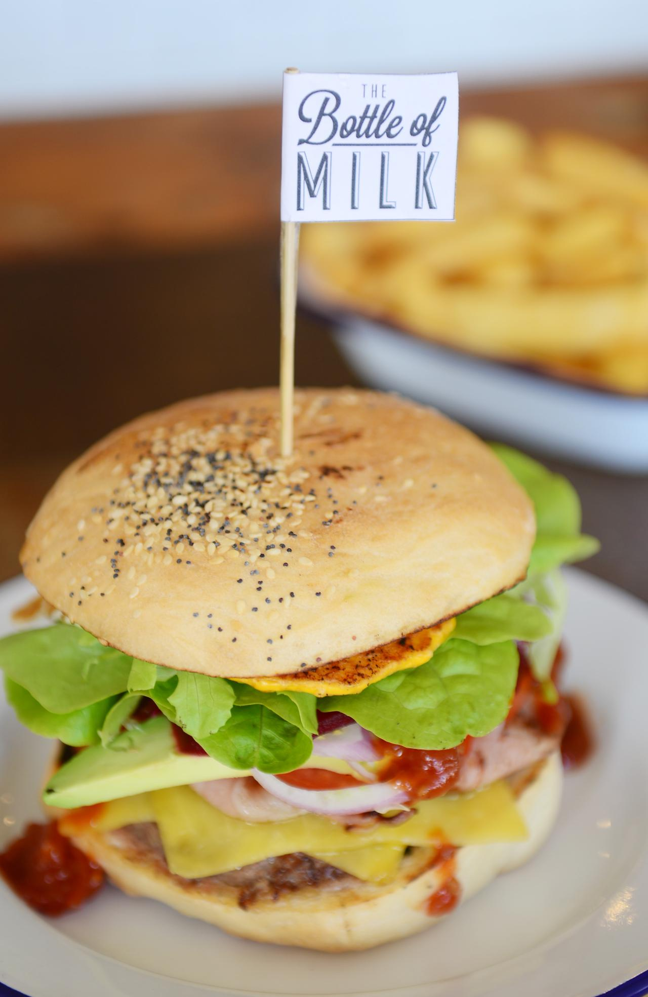 Lorne's famed burger bar The Bottle Of Milk is opening in Torquay this week. Burgers, Coffee. Picture: Bear Mitch