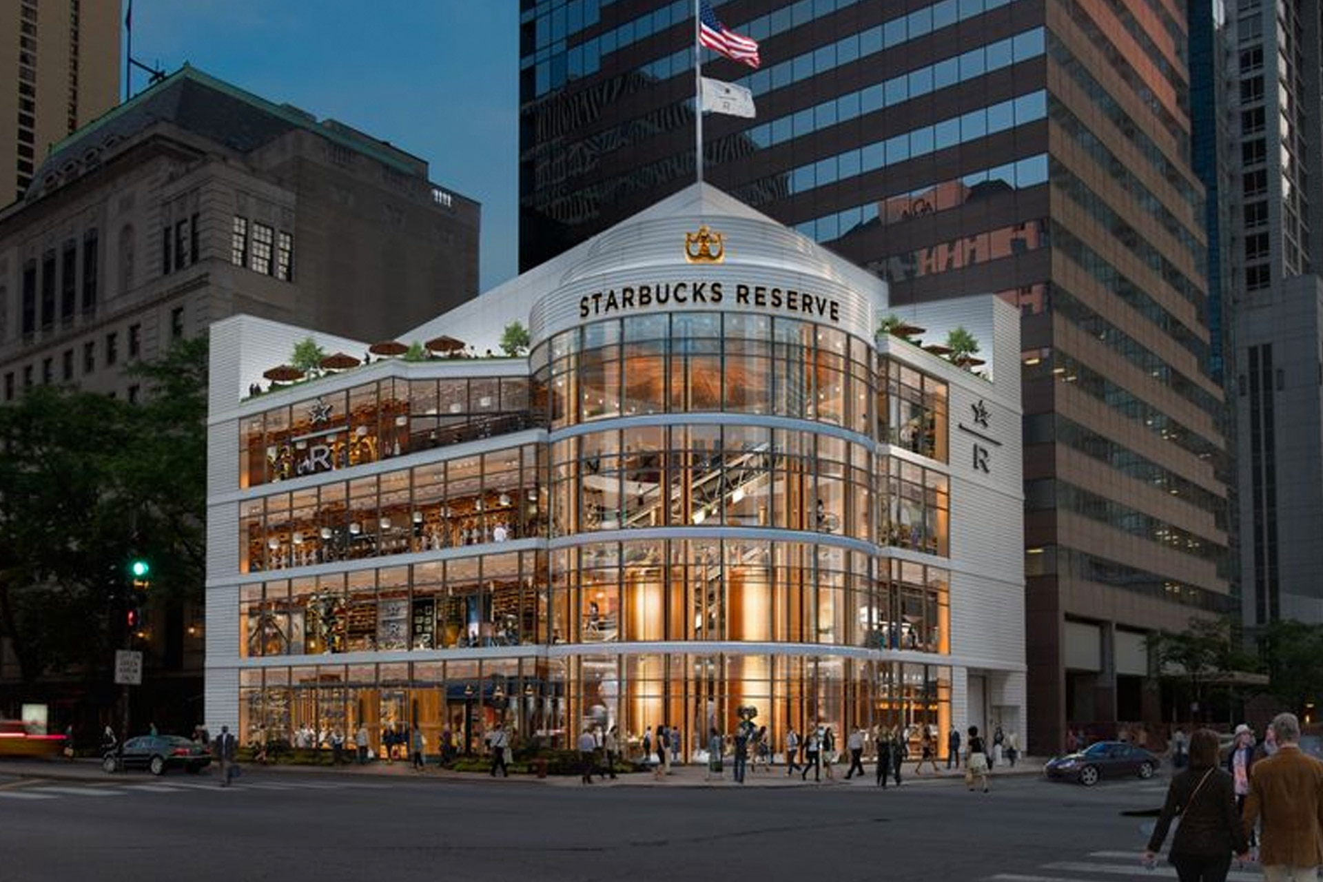 See Inside What's Set To Become The World's Largest Starbucks