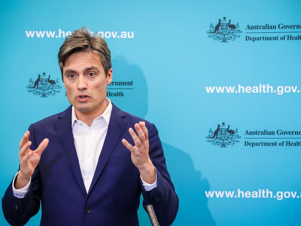Nick Coatsworth, Australia's Deputy Chief Medical Officer. Picture: David Gray