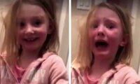 Mum's viral video of pranking girl with poo