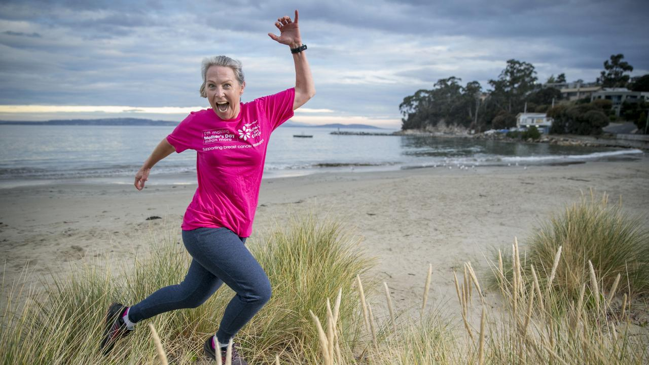 Sue Hillam, of Snug, will be running in the Mother's Day Classic on Sunday. Picture: EDDIE SAFARIK