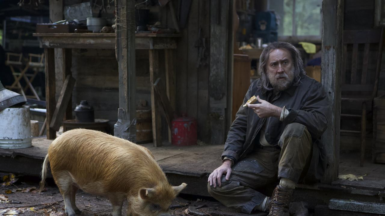 Nicolas Cage is a triumphant in Pig. Picture: Madman