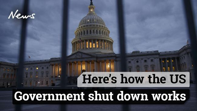 Here's how the US Government shut down works