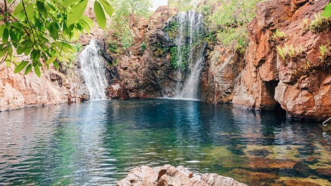 5/10 Litchfield National park You can opt into drive through yourself with the family, spending the day with the kids swimming in the water holes.