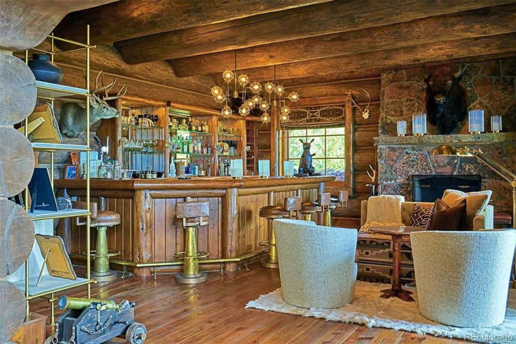 A built-in bar area. Picture: Realtor