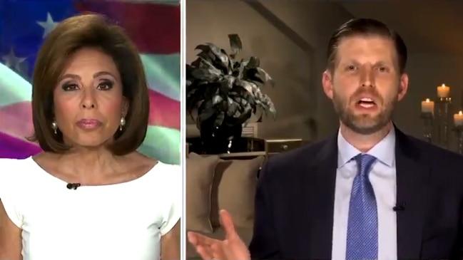 Coronavirus: Eric Trump claims COVID-19 will 'magically disappear' (FOX)