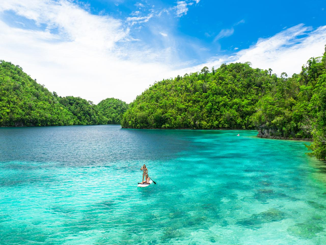 ESCAPE: Mark Fitz, Siargao Philippines - Sugba Lagoon in Siargao. Picture: Mark Fitz