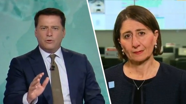 Karl Stefanovic grills NSW Premier over Ruby Princess: 'Are you sorry?' (Today Show)