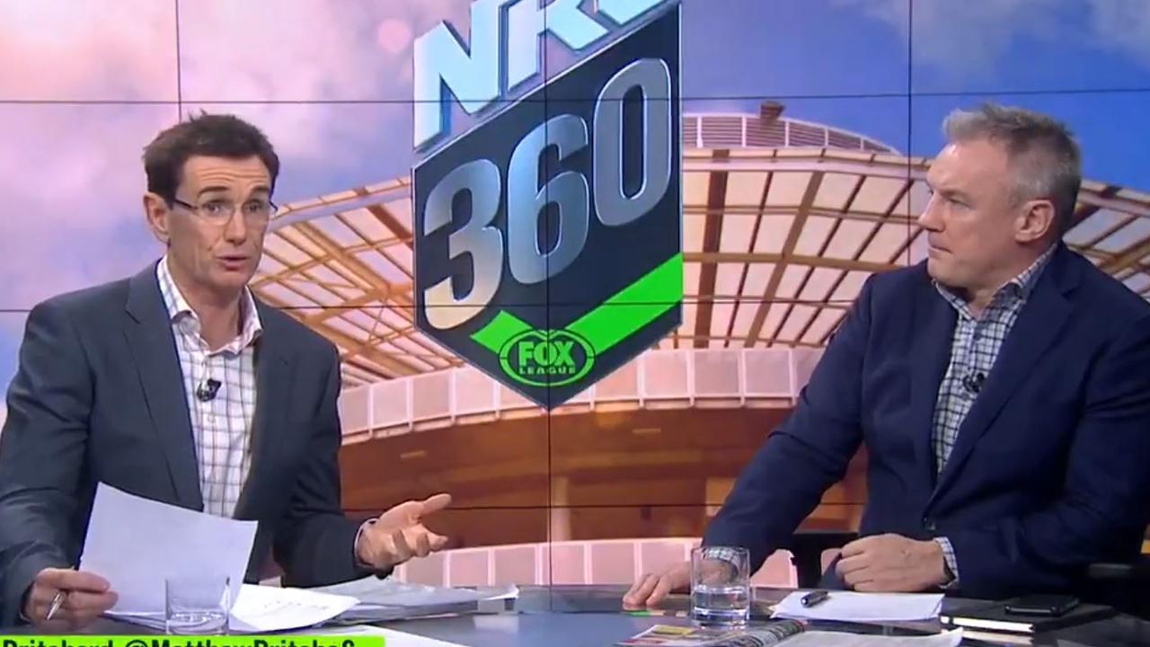 NRL 360 hosts Ben Ikin and Paul Kent.