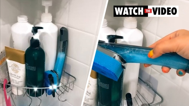 Genius shower-cleaning hack