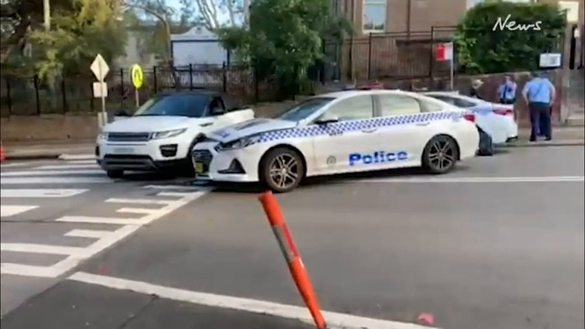 Man arrested following crash in Chatswood