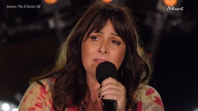 Ricki Lake gives emotional performance on The X Factor UK