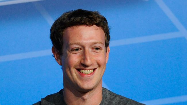 Co-Founder, Chairman and CEO of Facebook Mark Zuckerberg.