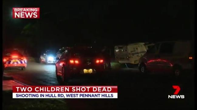 Two children dead in Sydney Shooting (7 News)