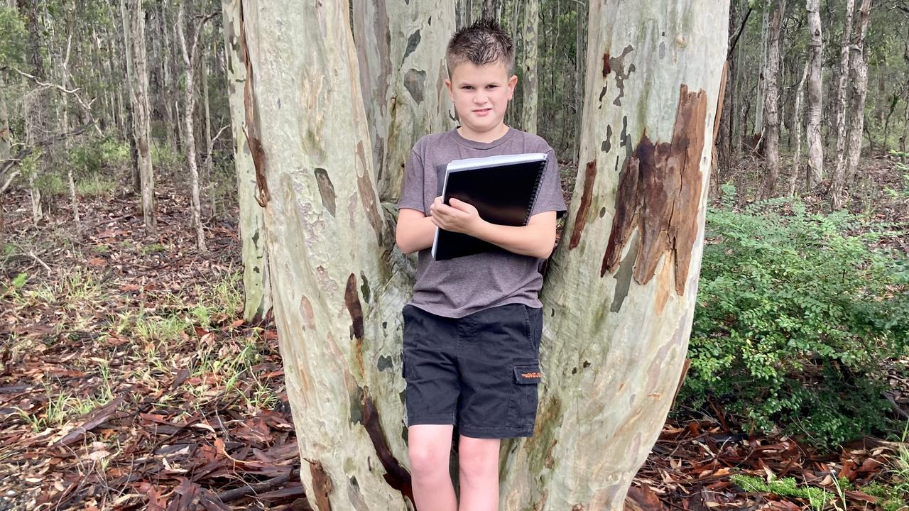 Year 5 student James has entered a moving poem about his experiences of the Black Summer fires in the Kids News Bushfire Poetry Competition.