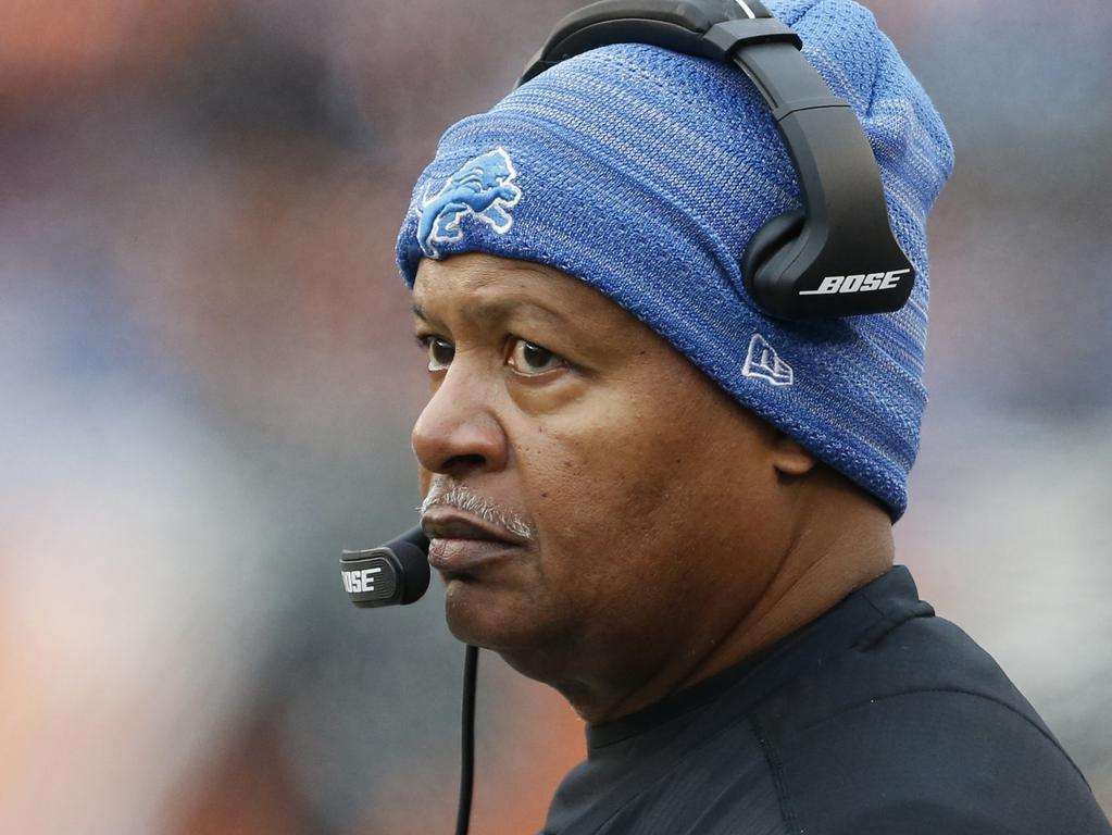 Jim Caldwell is in the hunt to coach the Jets. (Picture: Gary Landers/AP)