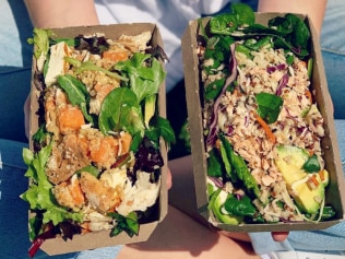 Not all salads score a five-star health rating... Image: Facebook/Sumo Salad.