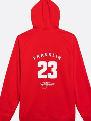 He's No. 23 for the Sydney Swans. Picture: buddyfranklin.com