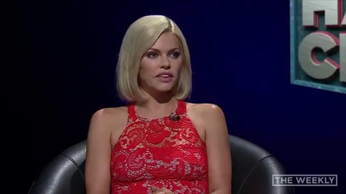 Sophie Monk gets grilled on The Weekly