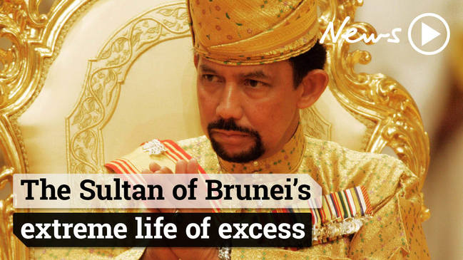 The Sultan of Brunei's extreme life of excess
