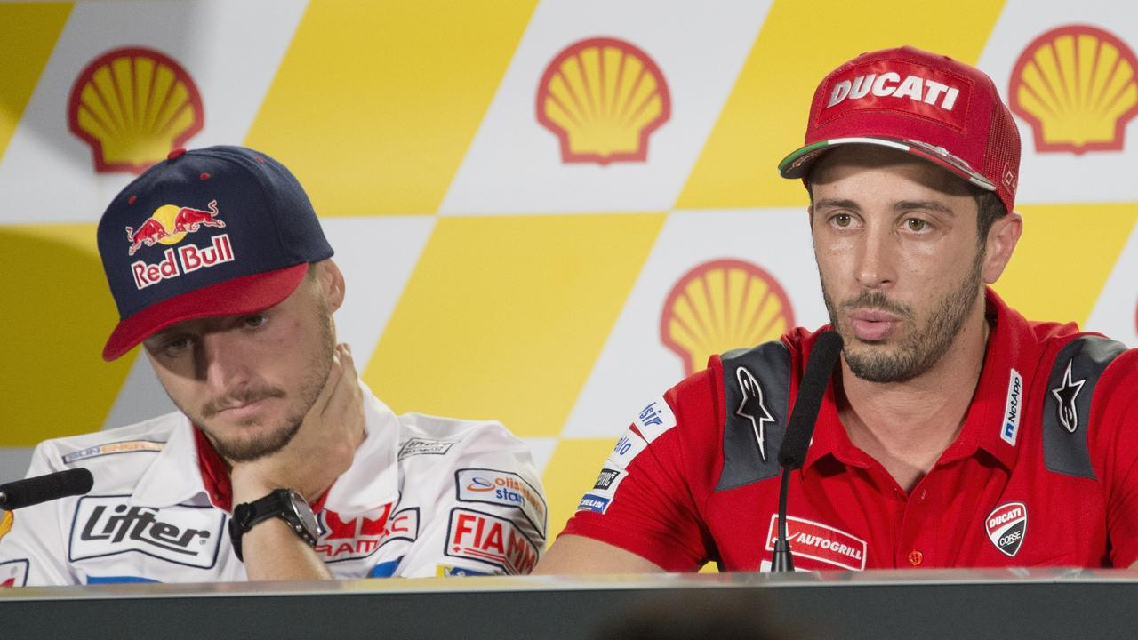 Could Miller be Andrea Dovizioso's teammate next season? Picture: Mirco Lazzari