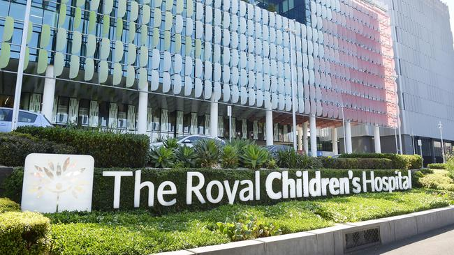 The girl is recovering in the Royal Children's in Melbourne. Picture: Josie Hayden