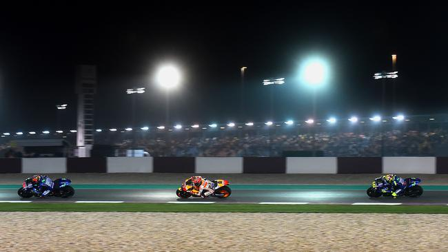 The 2018 MotoGP Grand Prix of Qatar is LIVE and AD-FREE all weekend on FOX SPORTS. Pic: Michelin