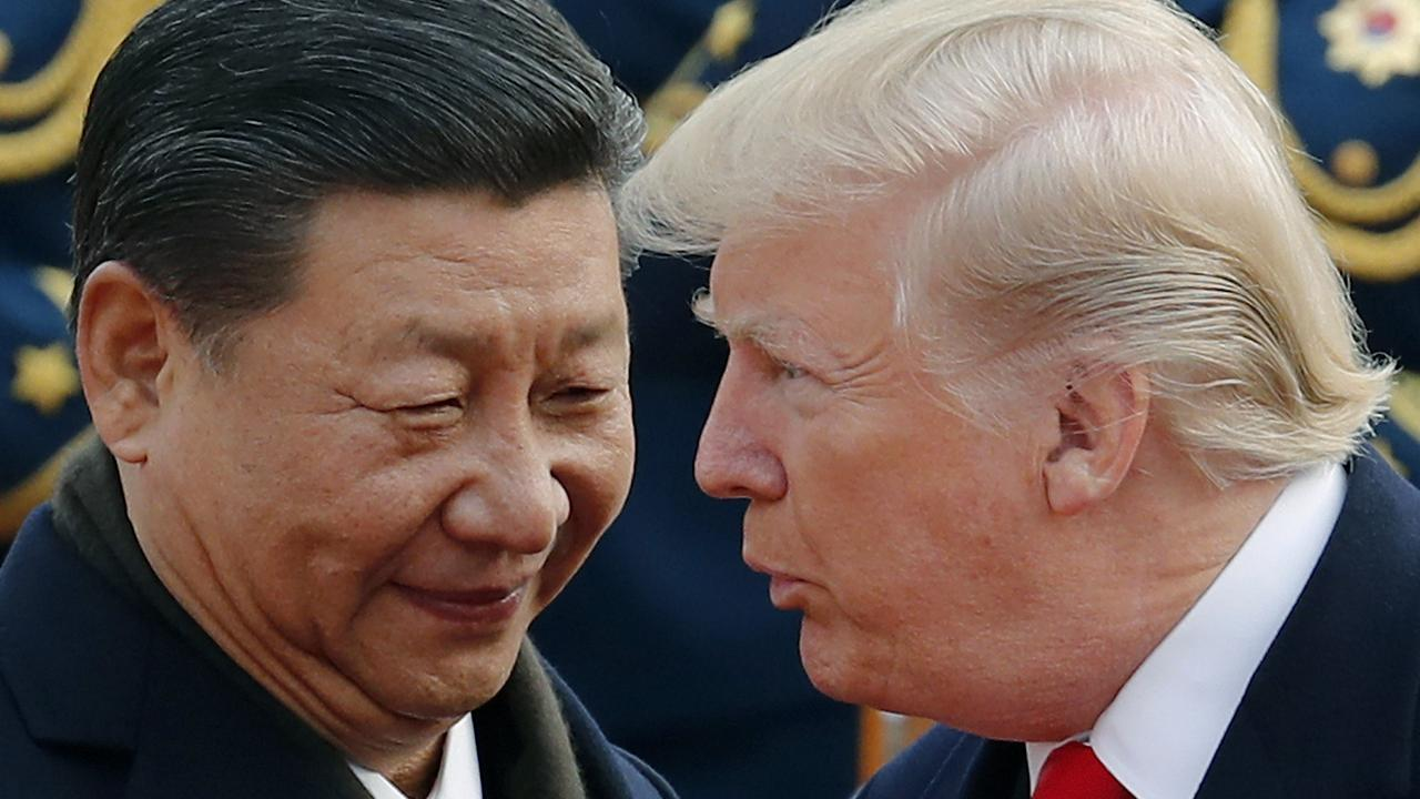 Trade discussions between U.S. President Donald Trump Chinese President Xi Jinping had been going well until, President Trump tweeted about the tariffs. Picture: AP/Andy Wong