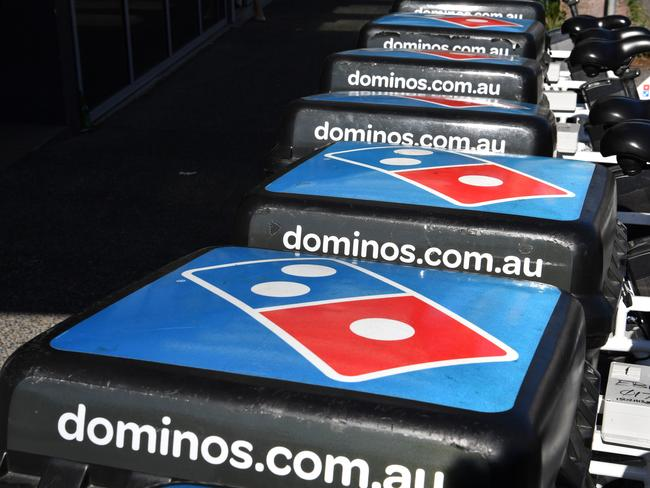 The chain believes its artificial intelligence will improve your pizza-eating experience. Picture: Darren England/AAP