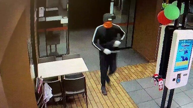 McDonalds Launceston attempted armed robbery – CCTV | The ...