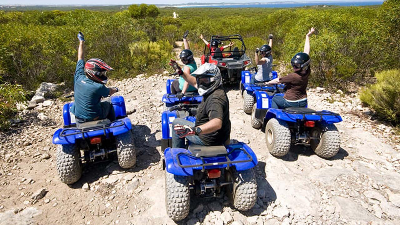 No better way to see Kangaroo Island than on a quad bike.