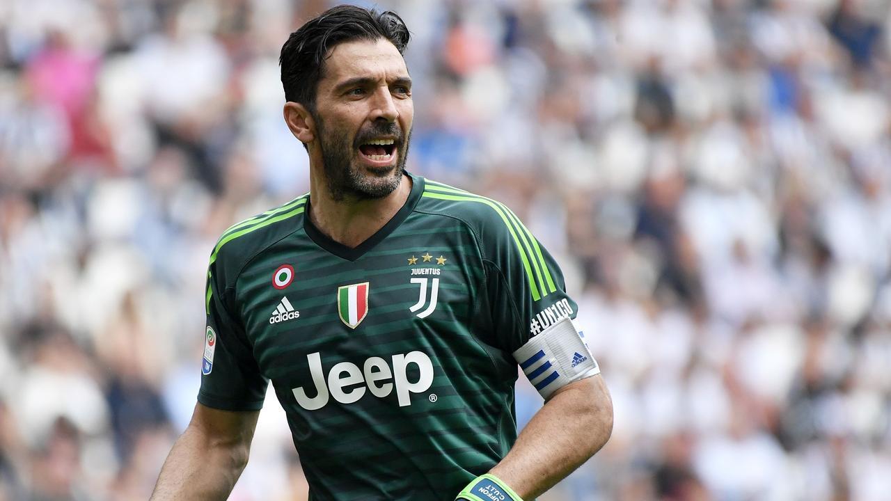 Buffon is a Juventus legend. Picture: AFP
