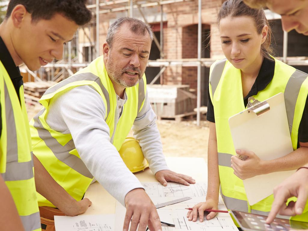Construction, aero skills and healthcare are some of the booming professionals job hunters can capitalise on. Picture: Supplied