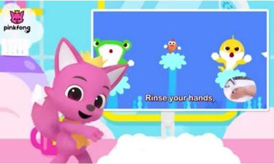 A new Baby Shark song about washing your hands is here